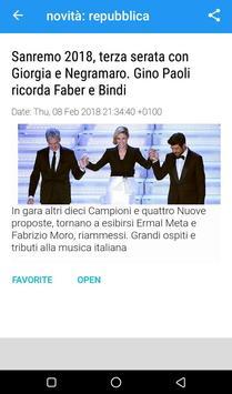 News: la Repubblica.it screenshot 3