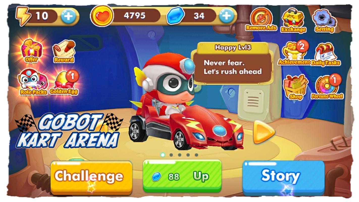 Kart Arena Gobot For Android Apk Download