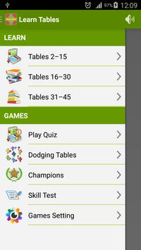 Learn Multiplication Tables screenshot 14