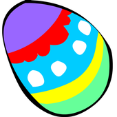Easter Eggs and the Bunny icon