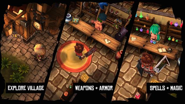Heroes Curse apk screenshot