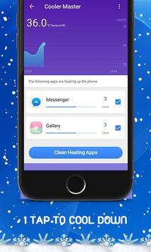 Phone Cooler - CPU Cooler Master (Speed Booster) screenshot 1