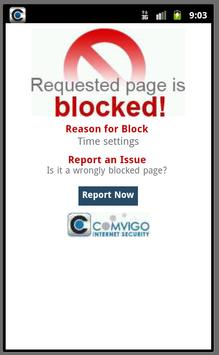 Web Filter with App Control screenshot 6