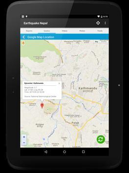 Earthquake Nepal apk screenshot