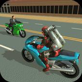 Jetpack Hero Miami Crime v1.8 (Mod Apk)