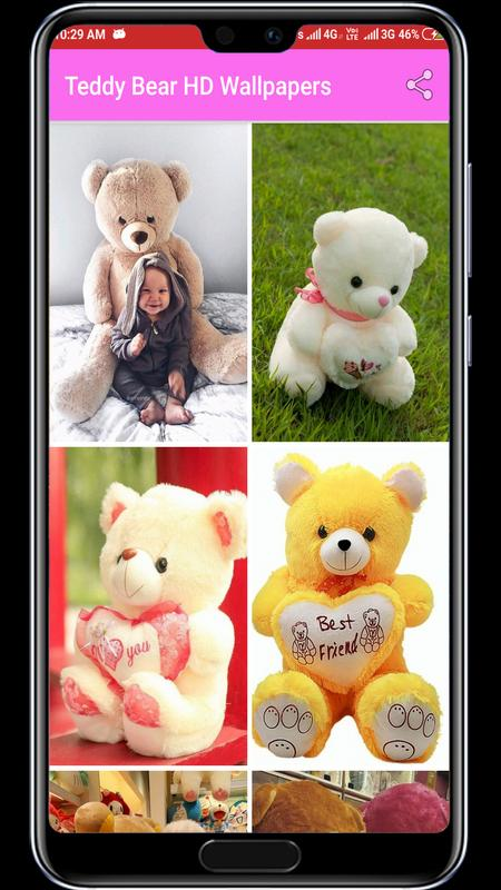 Cute Teddy Bear Hd Wallpapers For Android Apk Download