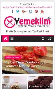 Yemek Tarifleri - Yemeklim.com poster