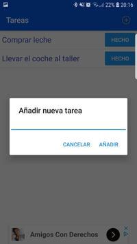 Tareas simple screenshot 1