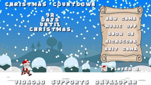 Christmas Counter Game poster