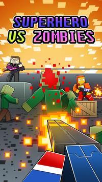 Hero Pixel V Zombie Gun 3D poster