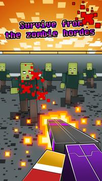Hero Pixel V Zombie Gun 3D screenshot 1