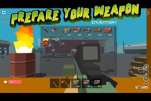 Hero Pixel V Zombie Gun 3D screenshot 4