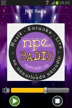 NPE Radio poster