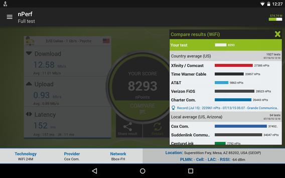 cox wifi speed test