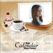 New Calendar Photo Frames Edit Selfie 3D Wallpaper icon
