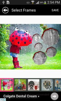 Latest Rain Picture Frames apk screenshot