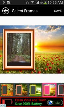 New Wonder Nature Photo Frames screenshot 1