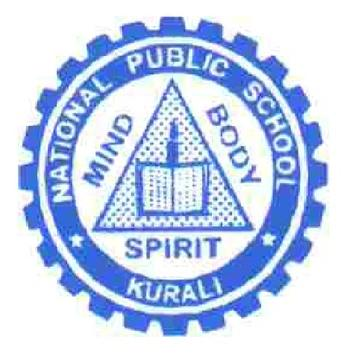 National Public School Kurali poster