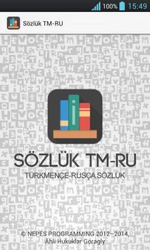 Sözlük TM-RU poster
