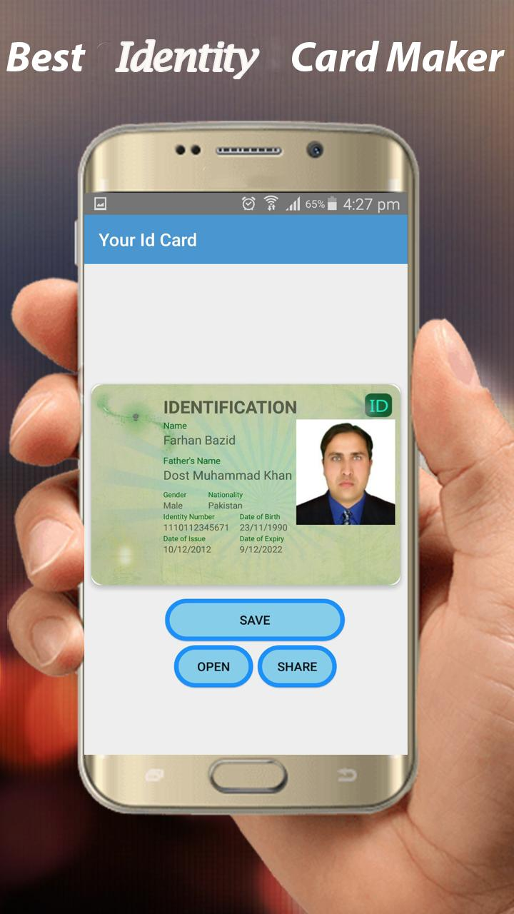 Roblox Code Generator Made By Xdaniel Fake Id Card Maker Id Card Generator For Android Apk Download