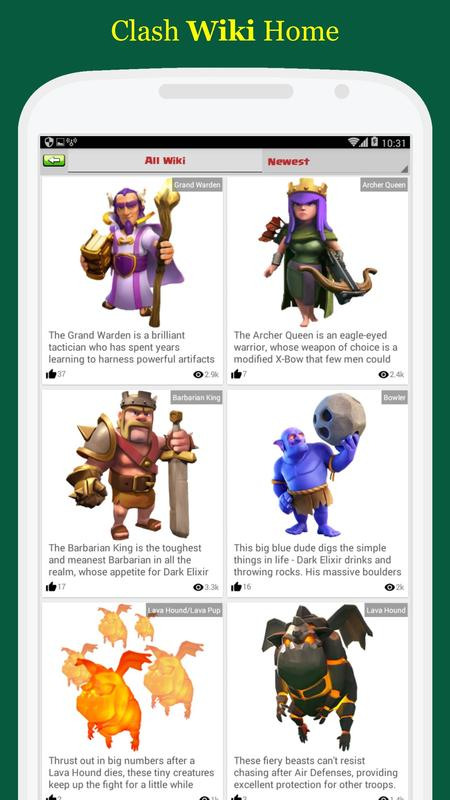 clash of clans all town halls