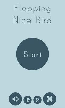 Flapping Nice Bird poster