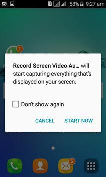 Record Screen Video apk screenshot