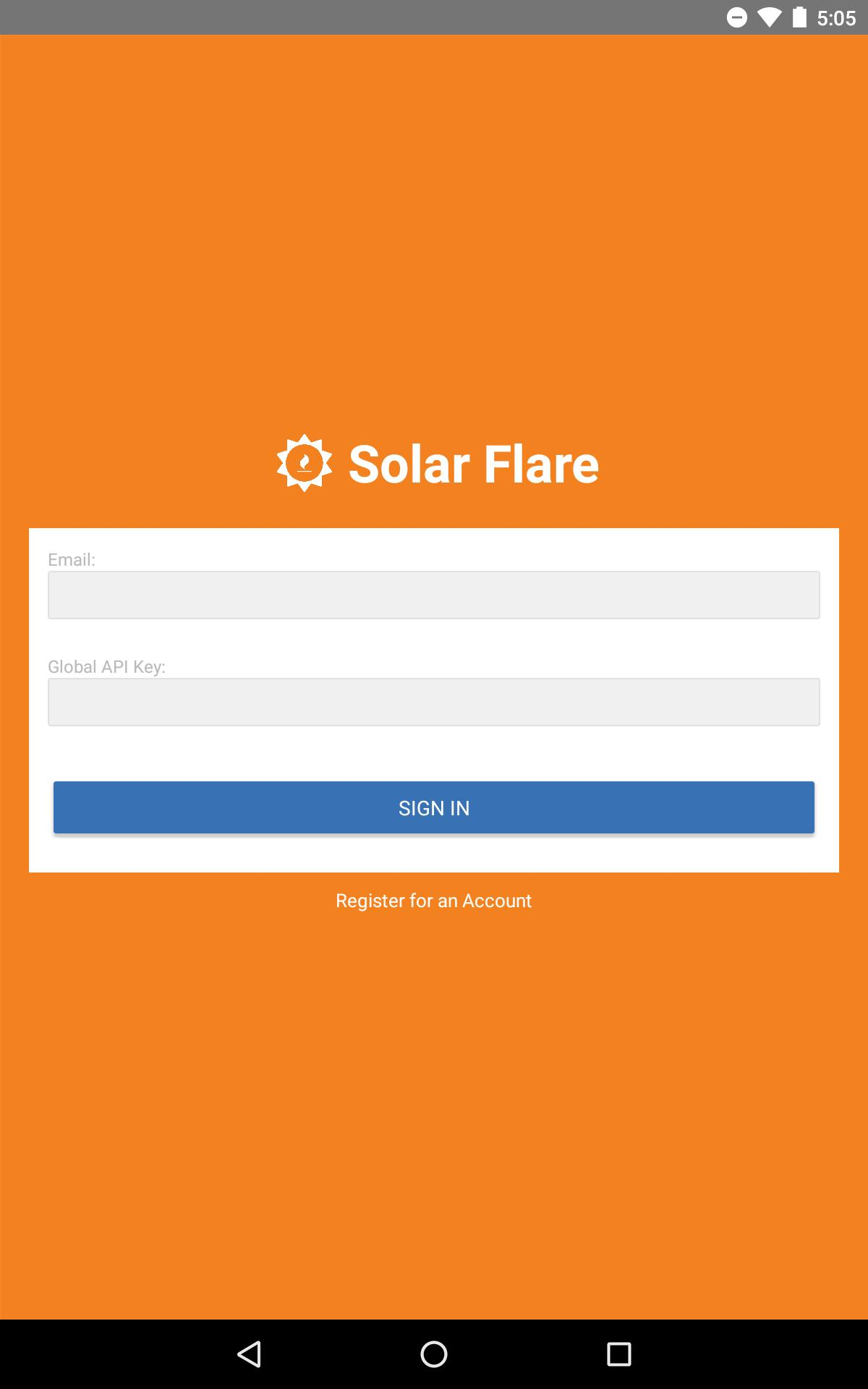 Solar Flare for Cloudflare for Android - APK Download