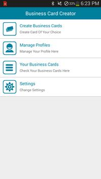 Business card creator apk download free business app for android business card creator poster business card creator apk screenshot reheart Images
