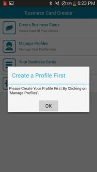 Business card creator apk download free business app for android business card creator apk screenshot reheart Images