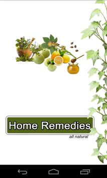 Home Remedies All Natural poster