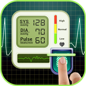 Download App Health & Fitness android antagonis Tekanan darah jari BP prank gratis