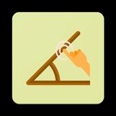 Draw An Angle icon