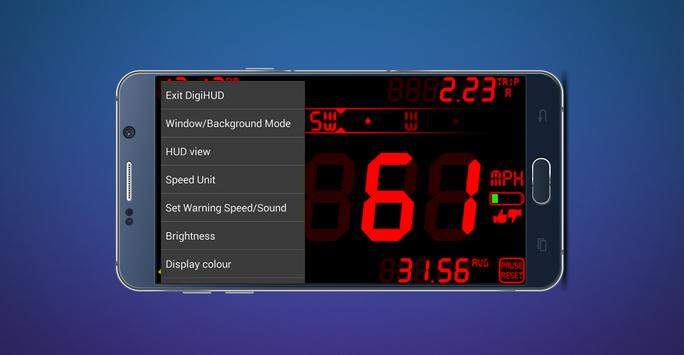 GPS Speedometer & Compass screenshot 1