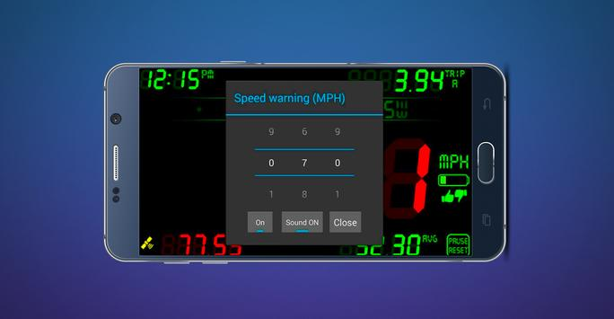 GPS Speedometer & Compass screenshot 3