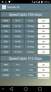 3G Data Plan apk screenshot