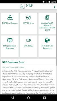 NRP App poster