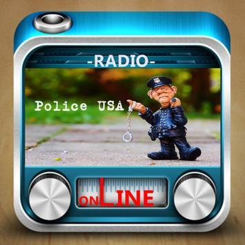 Police USA Radio poster