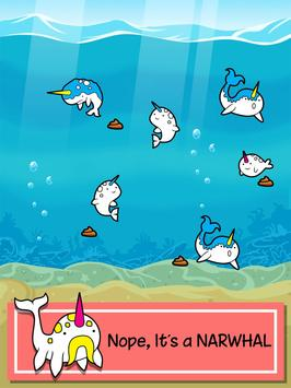 Narwhal Evolution -Sea Clicker apk screenshot