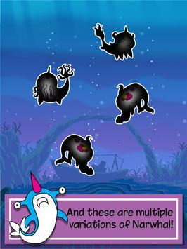 Narwhal Evolution -Sea Clicker apk screenshot