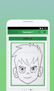 How to Draw Ben 10 apk screenshot