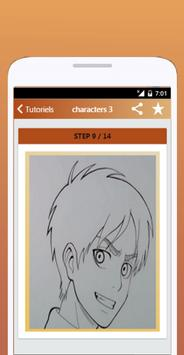 How To Draw Attack On Titan screenshot 3
