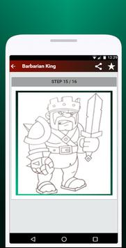 How to Draw Clash of Clans screenshot 2
