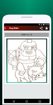 How to Draw Clash of Clans apk screenshot