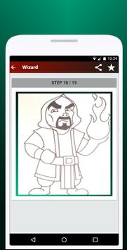 How to Draw Clash of Clans screenshot 7