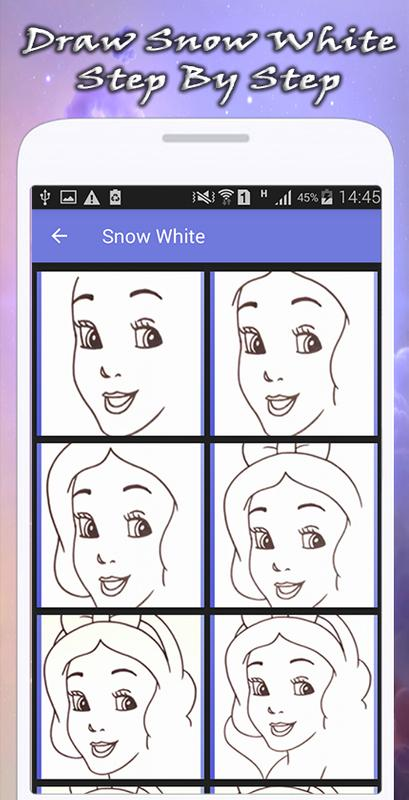 how to draw disney characters apk download free art design app