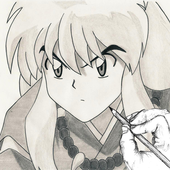 How to Draw Inuyasha icon