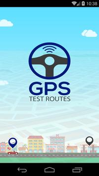 GPS Test Routes – Ireland poster
