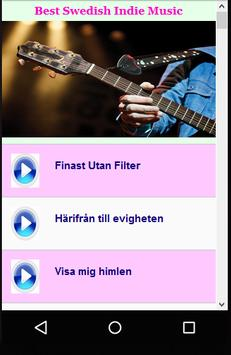Best Swedish Indie Music apk screenshot