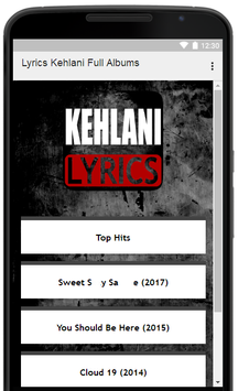 Kehlani Song Lyrics Full Albums for Android - APK Download